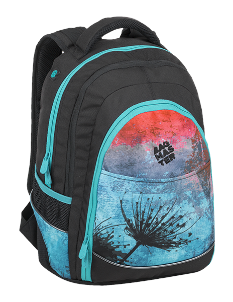 Bagmaster DIGITAL 9 A BLUE/RED/BLACK