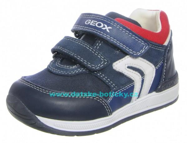 Geox B840RA 08510 C0735 navy/red