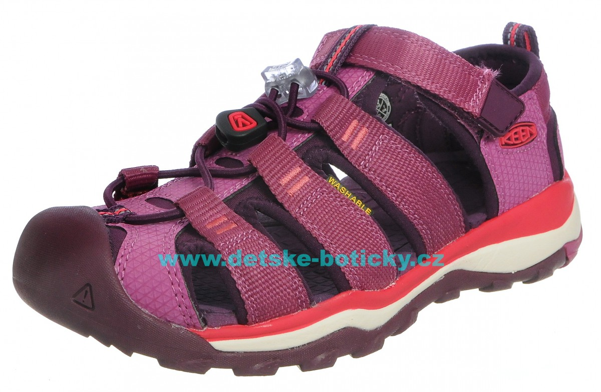 KEEN Newport neo H2 red violet/grape wine 1018427 1018435