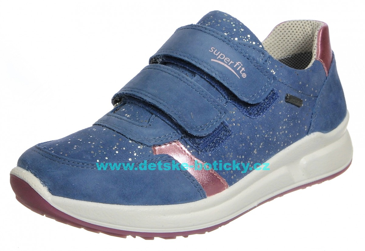Superfit 4-00189-80 Merida halbschuh blau