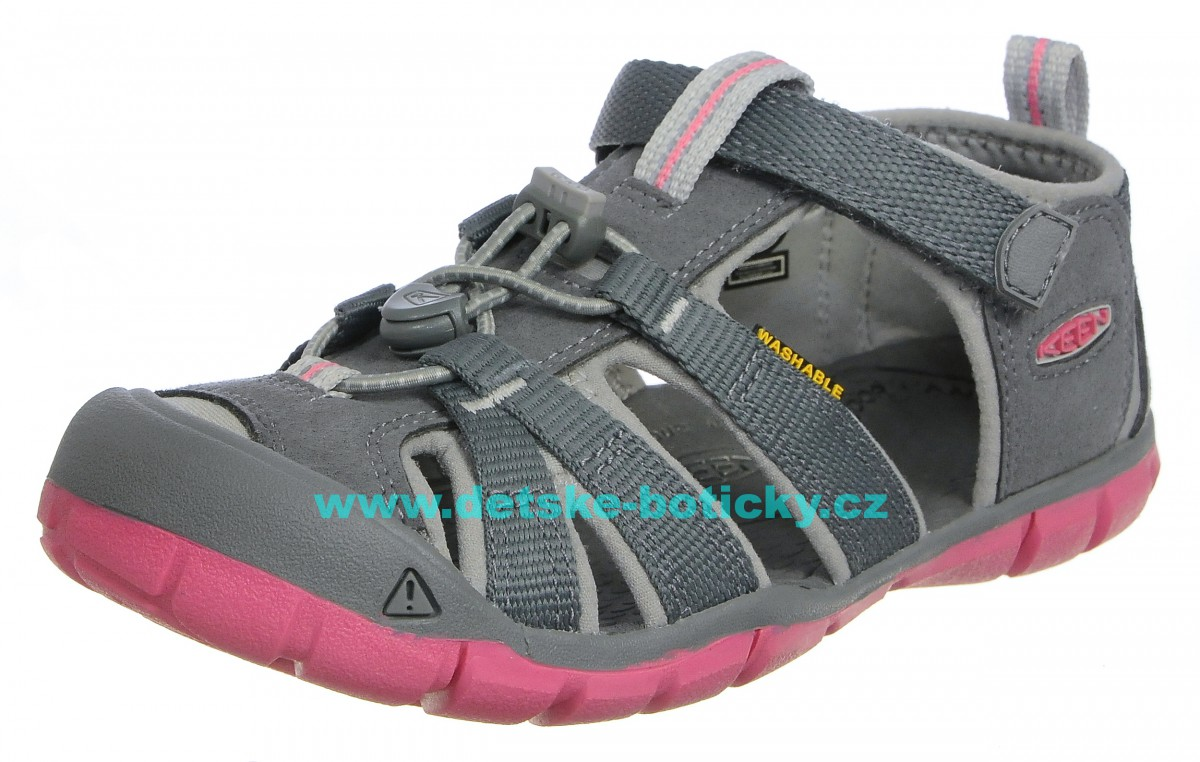 Keen Seacamp II CNX Steel grey/rapture rose 1020682 1020702