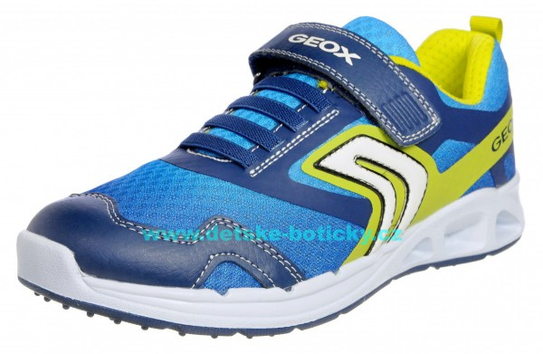 Geox J929FA 01454 C0749 navy/lime