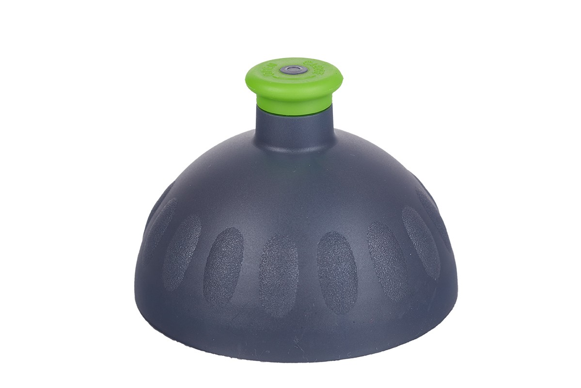 Zdravá lahev Víčko antracit/zátka zelená VPVZ0205