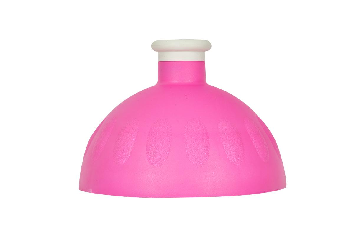Zdravá lahev Víčko fluo růžové/zátka bílá VPVZ0250