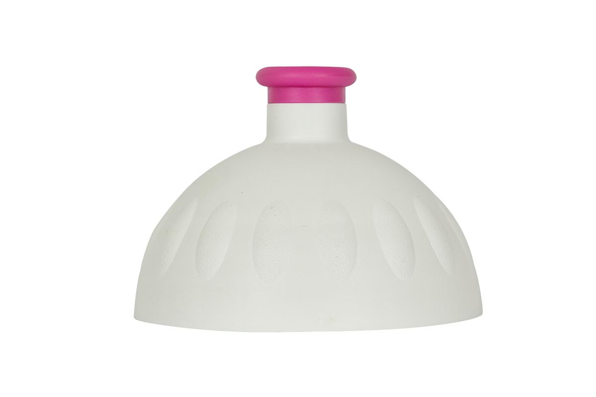 Zdravá lahev Víčko bílé/zátka fialová VPVZ0257