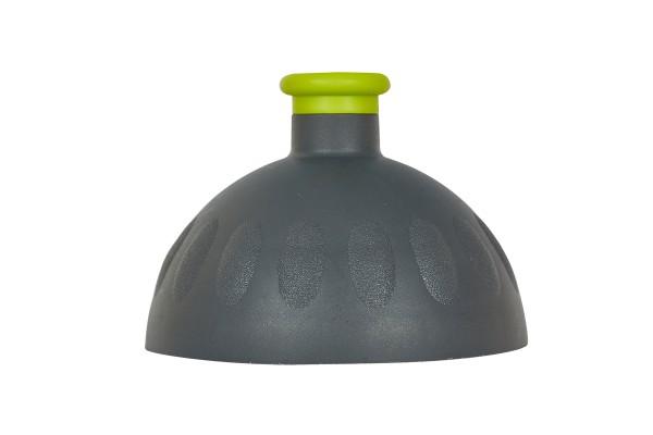 Zdravá lahev Víčko antracit/zátka světle zelená VPVZ0258