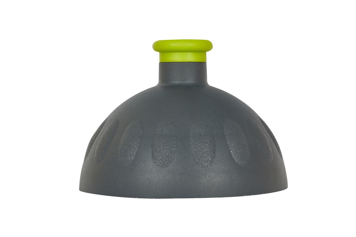 Fotogalerie: Zdravá lahev Víčko antracit/zátka světle zelená VPVZ0258