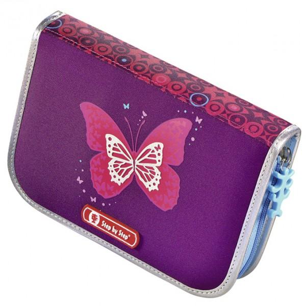 Fotogalerie: Hama 139131 Školní aktovka - 4-dílný set, Step by Step Flash blikačka Třpytivý motýl, certifikát AGR