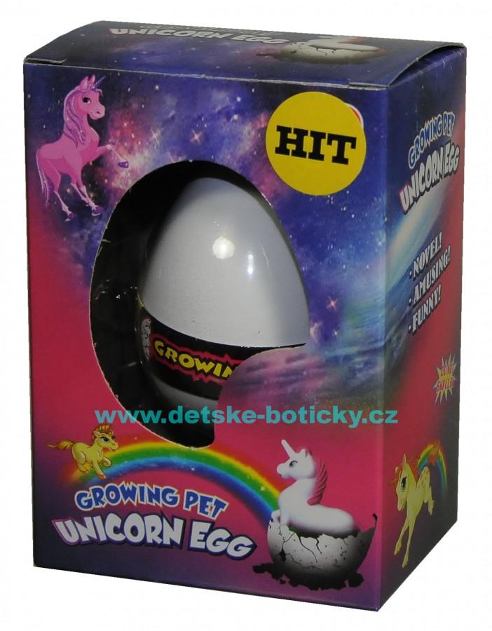 Growing pet Unicorn egg líhnoucí vejce jednorožec