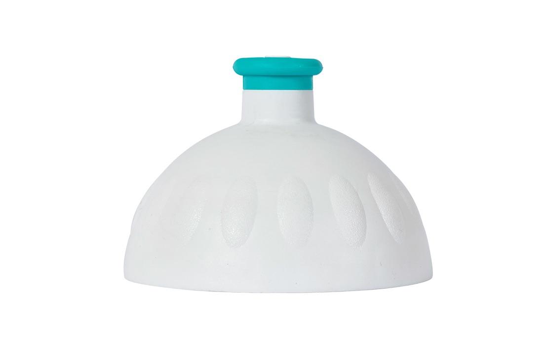 Zdravá lahev Víčko bílé/zátka zelená tyrkys VPVZ0234