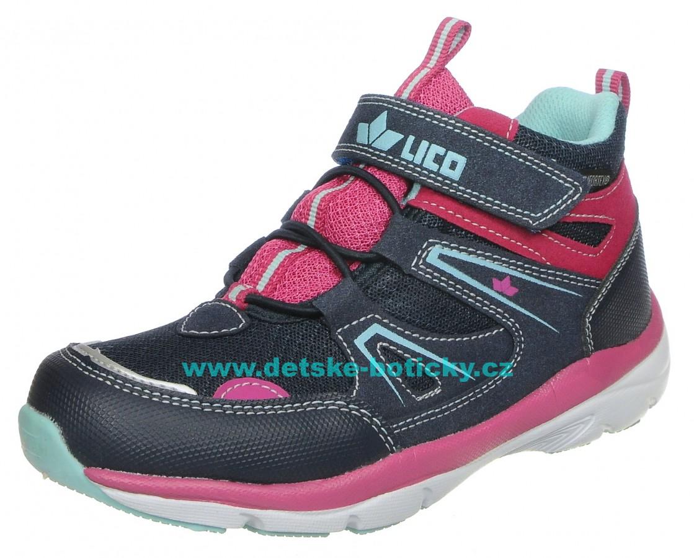 Lico 530838 Solna VS marine/pink/turkis