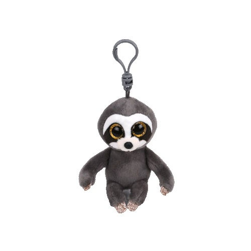 TY Beanie Boos DANGLER - šedý lenochod, 8,5 cm