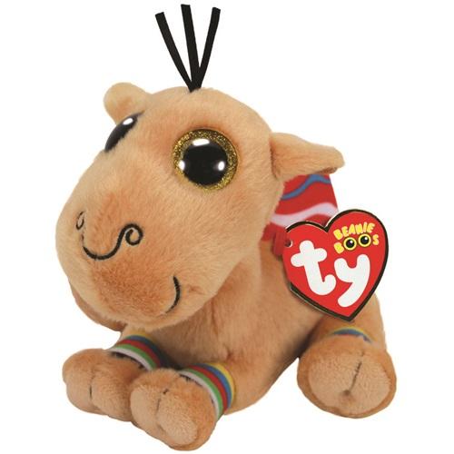 TY Beanie Boos JAMAL - velbloud, 15 cm