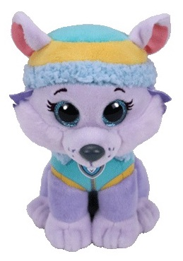 TY Beanie Babies patrola EVEREST, 15 cm