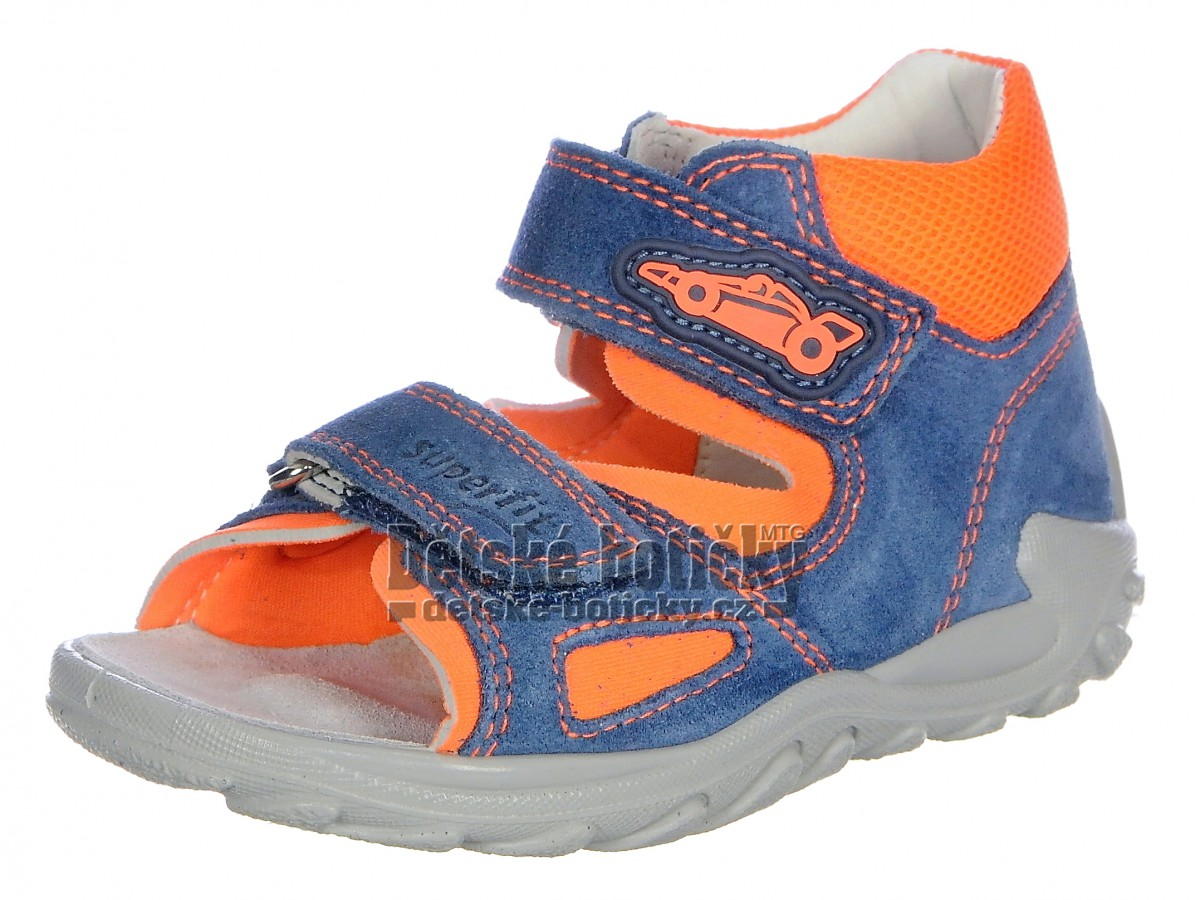 Superfit 6-09011-81 Flow blau/orange