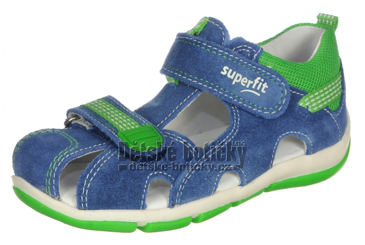 Fotogalerie: Superfit 0-600140-8000 6-00140-80 Freddy blau/grun