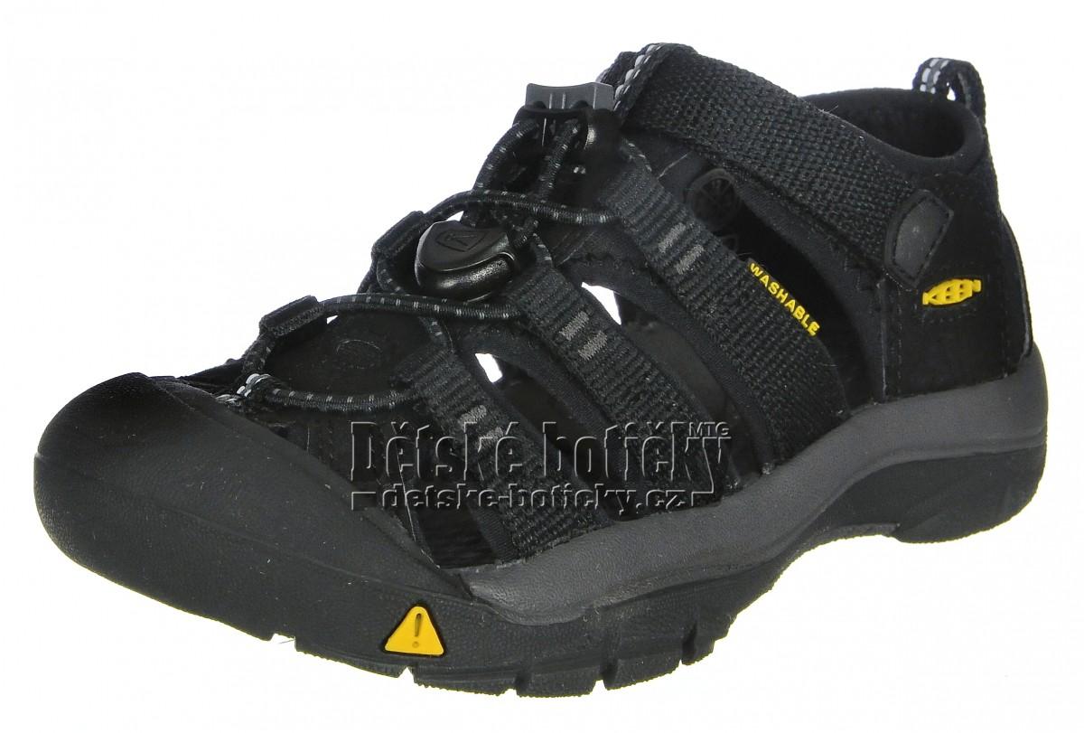KEEN Newport H2 black/keen yellow 1022824 1022838