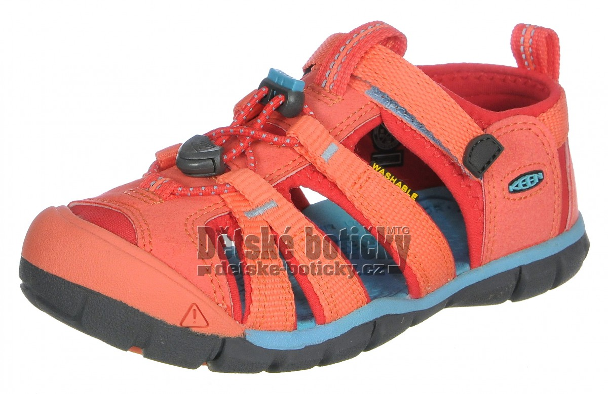 Keen Seacamp II CNX coral/poppy red 1022974 1022989