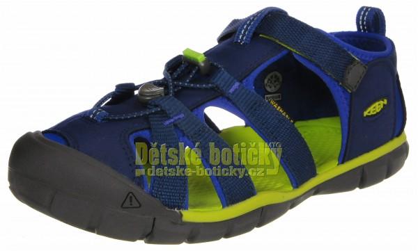 Keen Seacamp II CNX blue depths/chartreuse 1022978 1022993