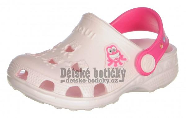 Coqui Little Frog 8701 pale pink/lt.fuchsia