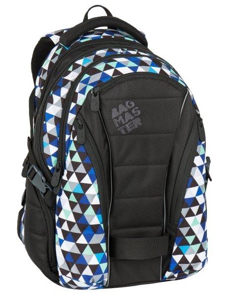 Bagmaster BAG 7 I BLACK/BLUE/GREY
