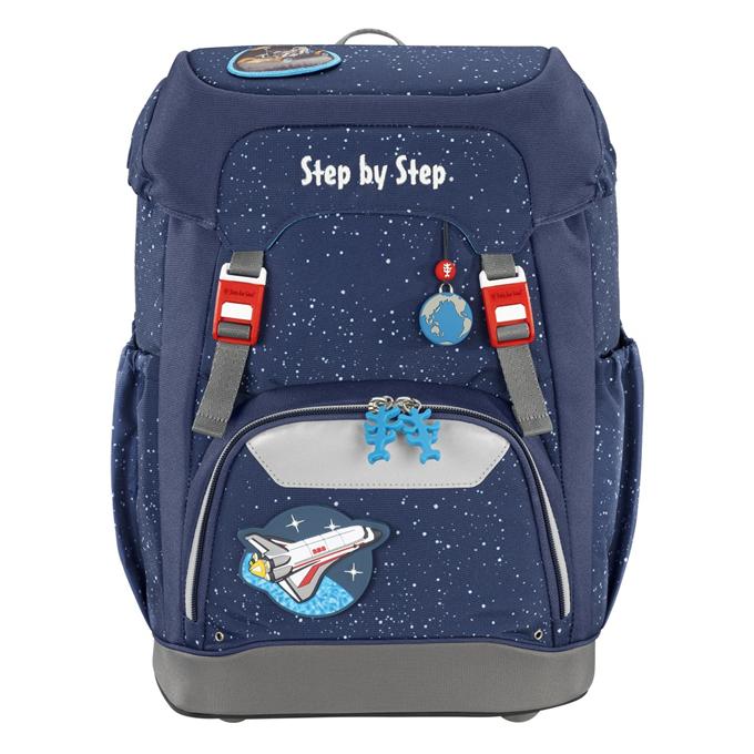 Hama 129654 Školní batoh Step by Step GRADE Vesmírná raketa + BONUS Desky na sešity za 1,- Kč