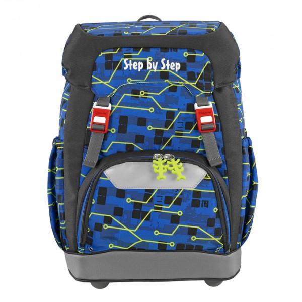 Fotogalerie: Hama 129662 Školní batoh Step by Step GRADE Robot + BONUS Desky na sešity za 1,- Kč