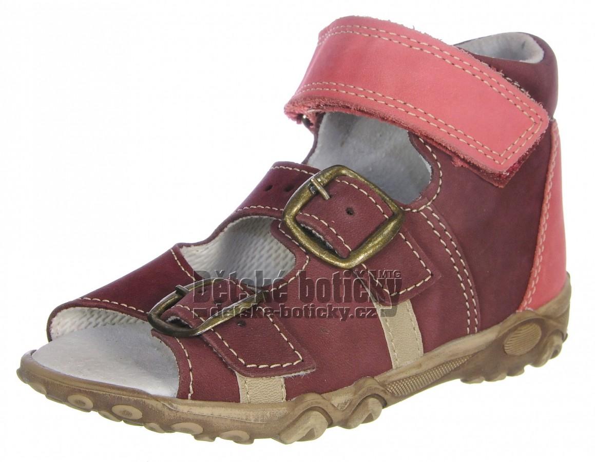 Boots4U T213 bordo pink