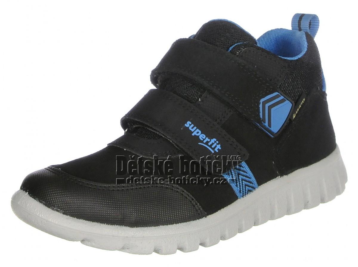 Superfit 1-009199-0000 Sport7 mini schwarz/blau