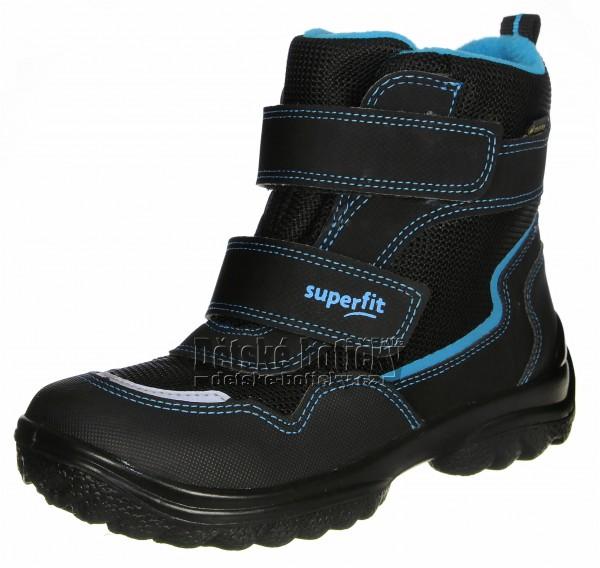Superfit 1-000024-0010 Snowcat schwarz/blau