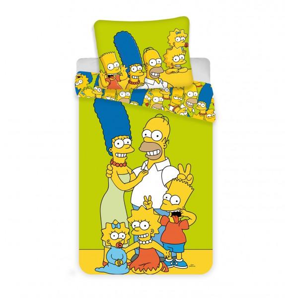 Jerry Fabrics povlečení The Simpsons family