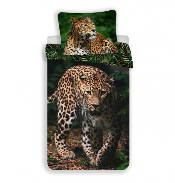 Jerry Fabrics povlečení Leopard