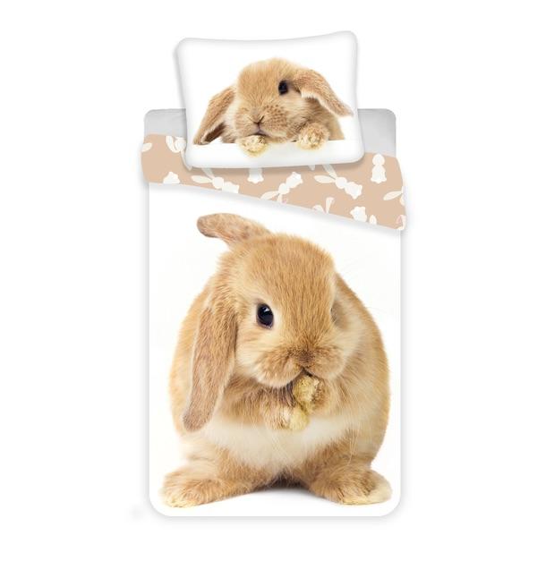 """Jerry Fabrics povlečení Bunny """"Brown"""""""