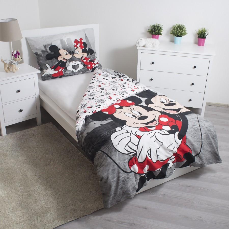 Jerry Fabrics povlečení Mickey a Minnie v New Yorku