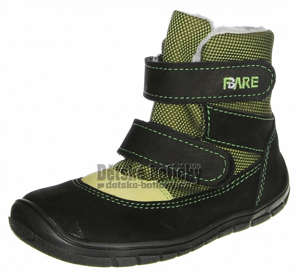 Fare B5441231 FINKY černá/zelená