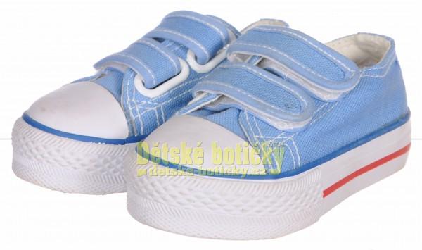 Obutex V06006-90 Sport obuv sv.modrá Doprodej