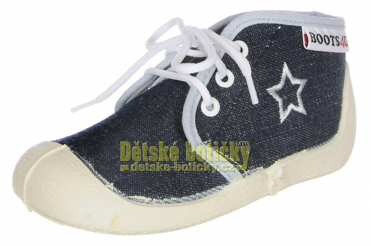 Boots4U T015A  tmavě modrá