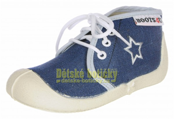Boots4U T015A modrá blues