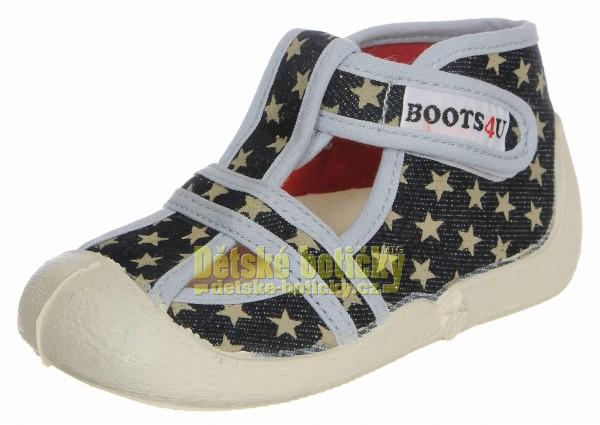 Boots4U T020 hvězda tmavá