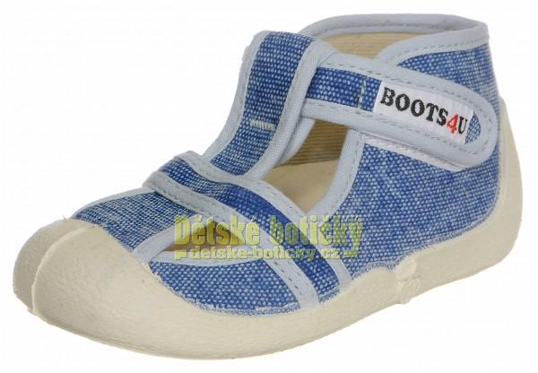 Boots4U T020 jeans světlý