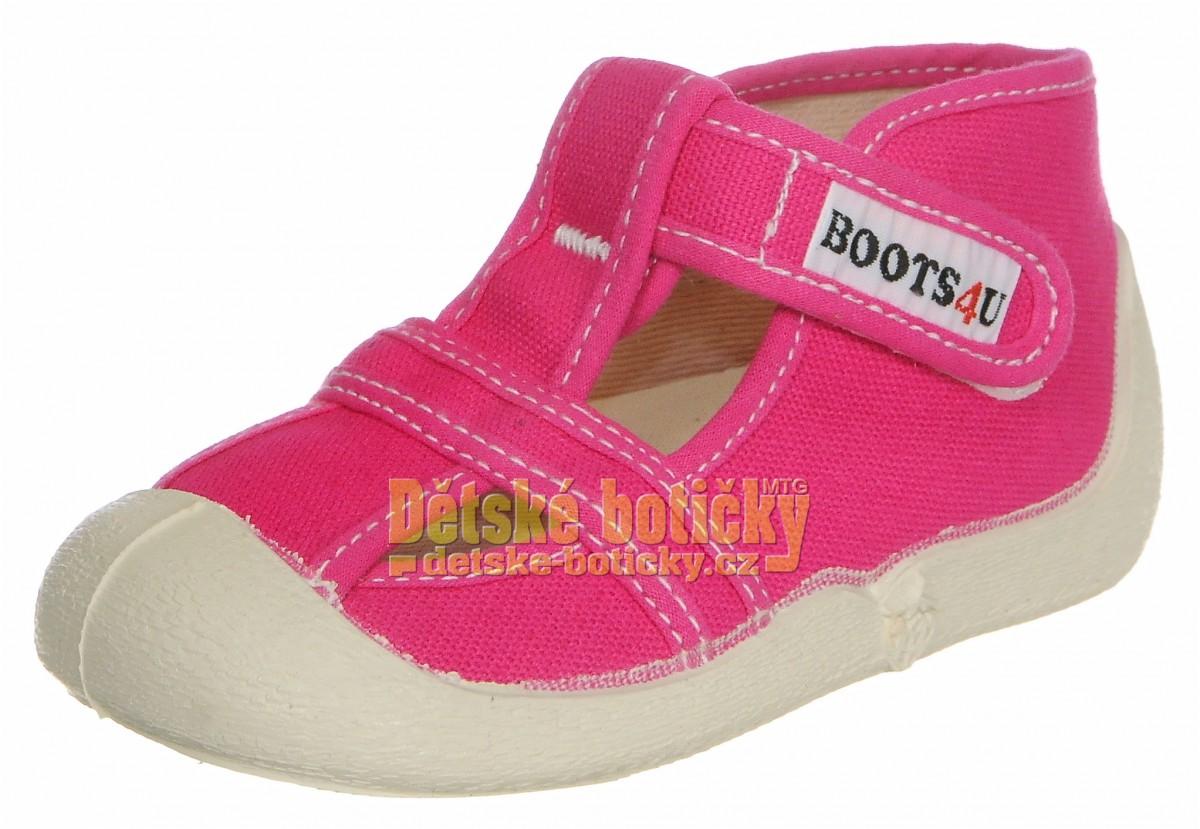 Boots4U T020 růžová