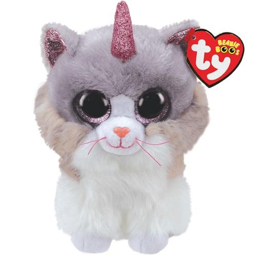 Ty Beanie Boos ASHER - kočka s rohem, 15 cm