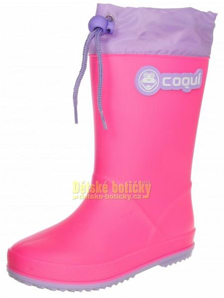 Coqui Rainy collar 8509-100-3602 lt fuchsia/lt lila