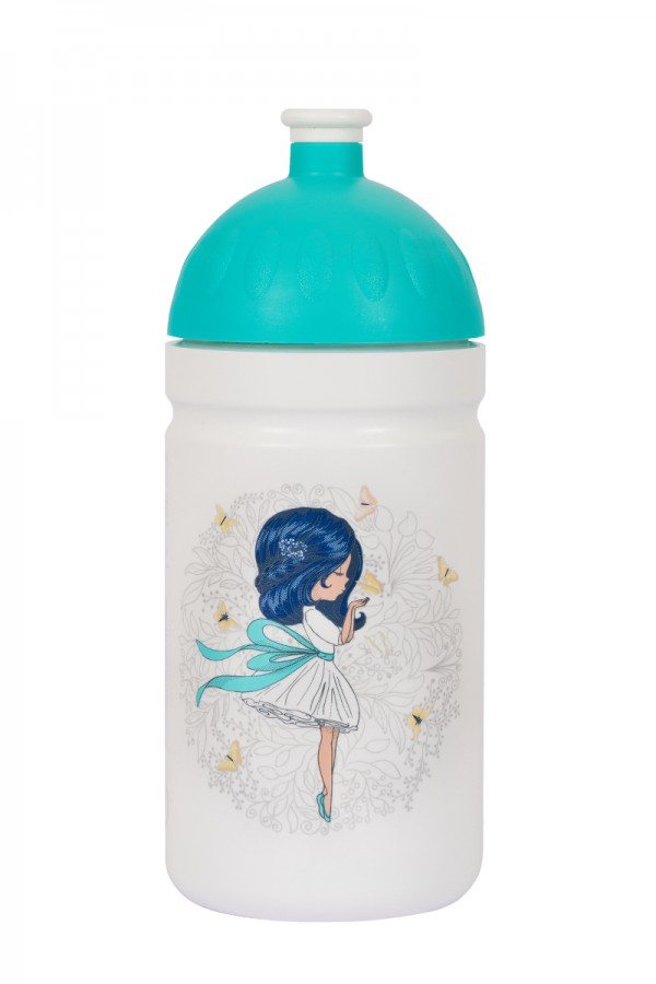 Zdravá lahev Dívka s mašlí 0,5l V050310