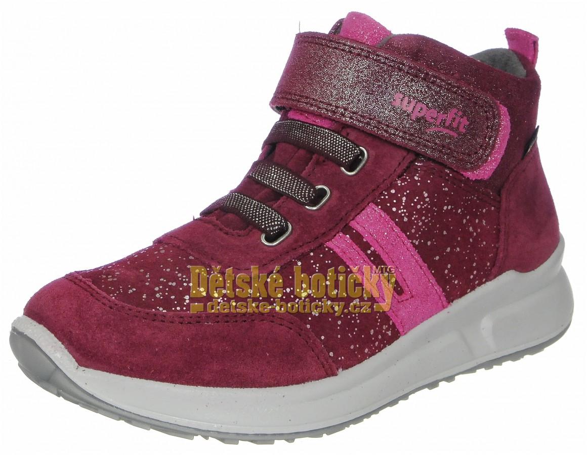 Superfit 1-009184-5010 Merida Halbschui rot/rosa