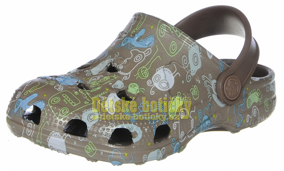 Coqui Little Frog 8715-261-2300 chocolate monster