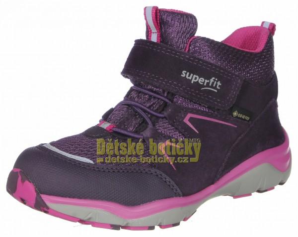 Superfit 1-000243-8510 Sport5 lila/rosa