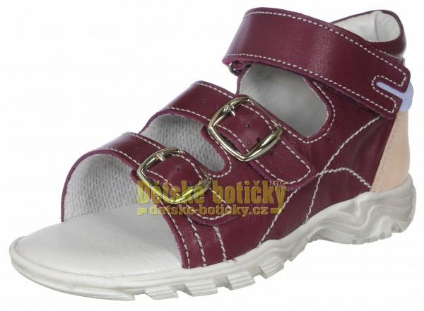 Boots4U T213 bordo rose