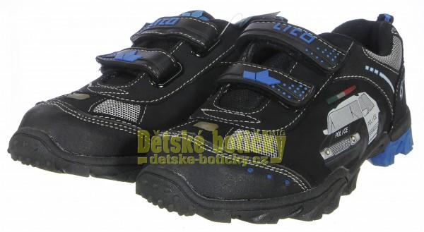 Lico 300032 Chief V blinky schwarz/royalblau/silber Výprodej