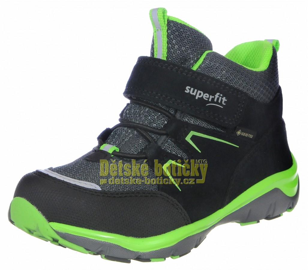 Superfit 1-000243-0000 Sport5 schwarz/grun